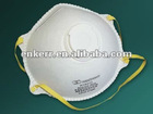 N95 dust mask with exhalation valve