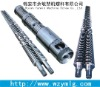 conical twin screw barrel 38crmoala for pp sheet