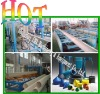 pvc double -wall corrugated pipe extrusion line