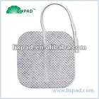 """Electrode pad, 2"""" square with super-conductive cabron film"""