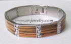 Stainless Steel Stones Bracelets