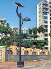 solar garden light for street and lawm with pole