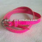 pink heart cut-out kids belt