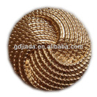 round metal sewing button