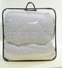 PVC plastic comforter bag for blankets/duvets/quilts