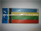 natural wooden pencil with eraser