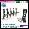 Modern PVC dining room chair B014#