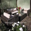 synthetic cheap outdoor rattan garden sofa sets wicker sofa sets