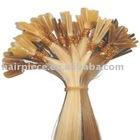 prebonded keratin fusion glue tipped remy nail human hair extensions