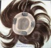 Indian remy hair male Toupee men's hairpieces
