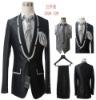 5 pieces business suit for men, formal business suit