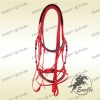 English Halter Horse Bridle Combo & Reins Trail For Horse Harness