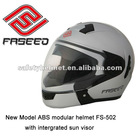 ECE approved new abs modular helmet with intergrated sun visor FS-502