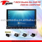 7INCH DOUBLE DIN CAR PC WITH FULL TOUCHSCREEN