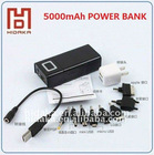 Portable USB power bank charger 5000Ah