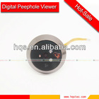 Motion detection wood glass door design for home security
