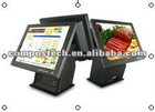 "15"" touch screen POS PC terminal"