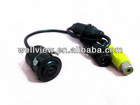 Mini Embedded Car Camera (diameter18.5mm),with 170 degree view angle