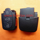 High Quality Audi 2 button remote key shell &Blank without panic with free shiping 65%
