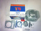 High quality complete cylinder kit with piston and rings for CG250