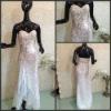 Famous Designer Hot Slit Sequins Evening Dress