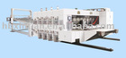 CL flexo printing machine and slotter, die cutter