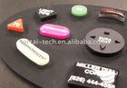 Multicolour Silicone rubber keypad