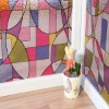 3D static decorative window film
