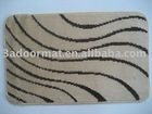 Bath rugs with anti slip backing