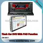 Double din car GPS dvd with Ipad (EW-8817)