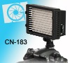 NanGuang CN-183 on camera LED light,with D-tap cable