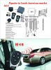 one way car alarm system with trunk release