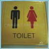 Gold Dust Dript Glue Carved Toilet Tablet
