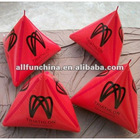 inflatable swim event buoys triangular shape for water triathlons event