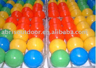 90 multi-colored play ball Comes with carry bag