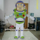 Buzz Lightyear Cartoon Character Mascot Costume