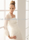 Long sleeve bridal wedding jacket SL-99
