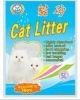 100% bentonite cat litter
