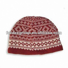 Fairisle Ski Cap, Made of Machine Washable Merino Wool and Anti-pilling Acrylic
