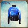 Mens blue sublimation running jacket