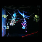 Christmas Decoration LED Lights String With 12 Various Shape Lights