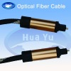 Copper connector fiber optic cable
