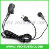 Two way radio earphone for Icom radio IC-F3 IC-F3S