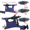 Professional Fashion Purple Butterfly Tattoo Machine Gun