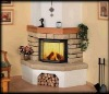 wall fireplace