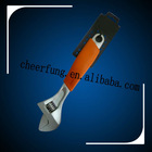 ADJUSTABLE WRENCH WITH RUBBER GRIP HANDLE(WR-0002)
