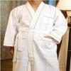 Hotel waffle cotton bathrobe