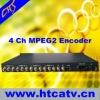 4ch SD ASI video encoder