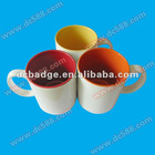 inner color sublimation mug can priting picture ceramic coating mug