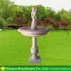 marble fountain with lovely carving